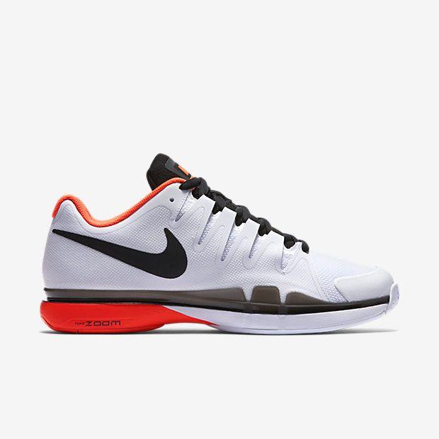 Nike Zoom Vapor 9.5 Tour Mens Tennis Shoes 11 White Crimson FEDERER 631458  106…