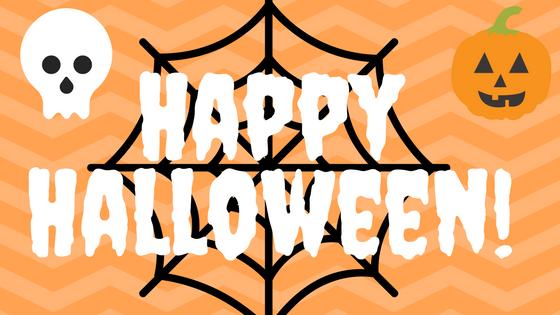 Happy Halloween! Spooky Books Inside Happy halloween