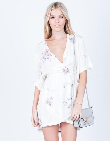 430820fe53b9 Floral Wrapped Kimono Tunic Dress + 2020AVE Best Sellers