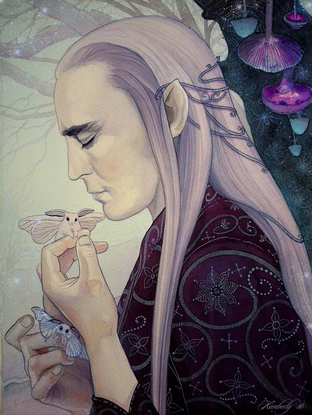 Elven Nick-Nacks - melianinarda: My blueberry nights, summer...