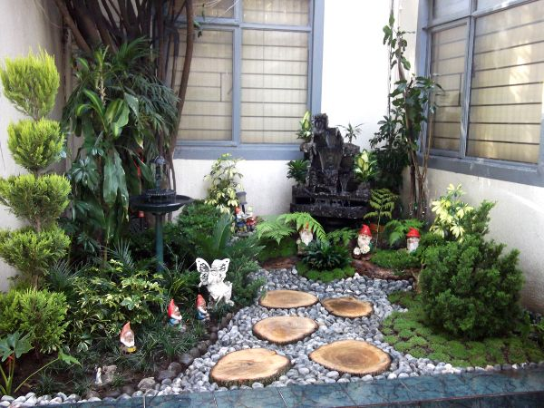 Para darle un toque muy especial y nico a su casa muchas - Jardines de casas pequenas ...