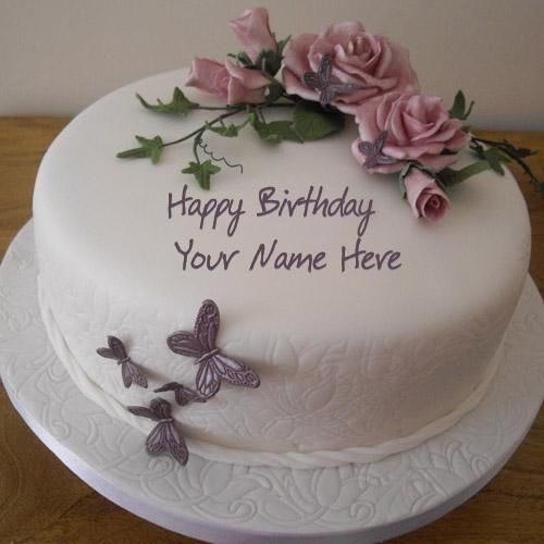 Best 1 Website for name birthday cakes Write your name on Birthday