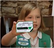Gsnc girl scout with magsmunchies business card print out business gsnc girl scout with magsmunchies business card print out business cards that have your personal colourmoves Image collections