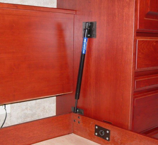 Piston Lift Mechanism For Murphy Bed By Wilding Home