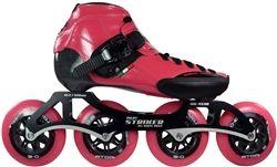 Luigino Strut Package Pink Inline Competitive Speed Skates