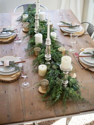 30+ Absolutely stunning ideas for Christmas table decorations images