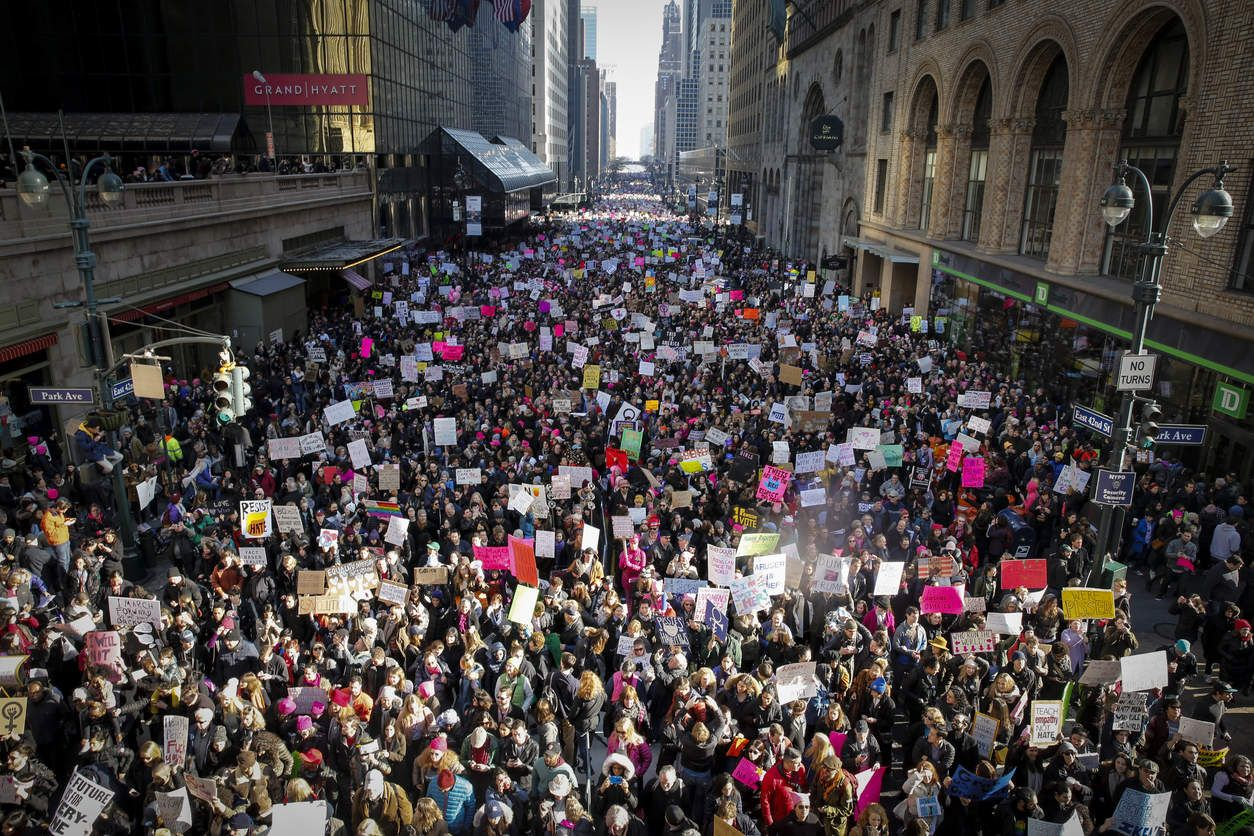 Pictures From The 2017 Women S Marches On Every Continent Womens
