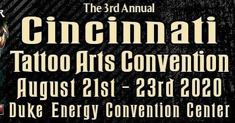 Due to circumstances beyond our control,  We are having to reschedule the 3rd Annual Cincinnati Tattoo Arts Convention.  The new dates are August 21st - 23rd, 2020. We appreciate your patience and understanding while we navigate this difficult time.  Sincerely  Villain Arts  Villainarts.com  #villainarts #tattooconvention #villainartsattendingartist #villainartsartist #villainarts2020 #tattoo #tattooed #tattoos #colortattoo #featuretattoos #awardwinningtattooartist #inkedmag #inked