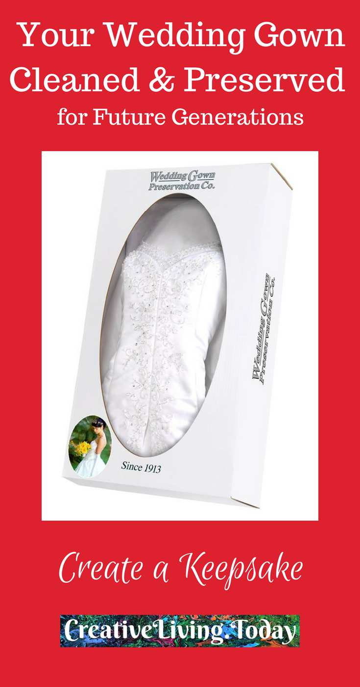 Wedding gown preservation kit make your wedding dress a keepsake