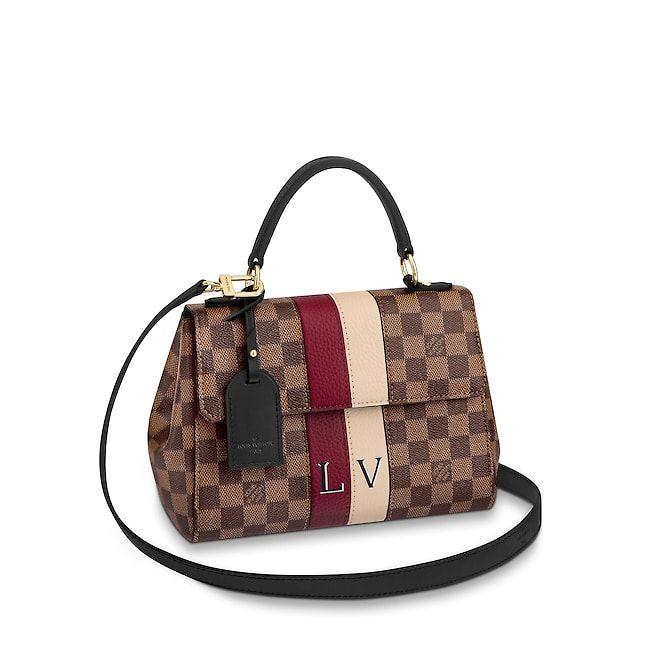 5559b40ce1df View 1 - Women - Bond Street BB Damier Ebene Canvas Women Handbags Top  Handles