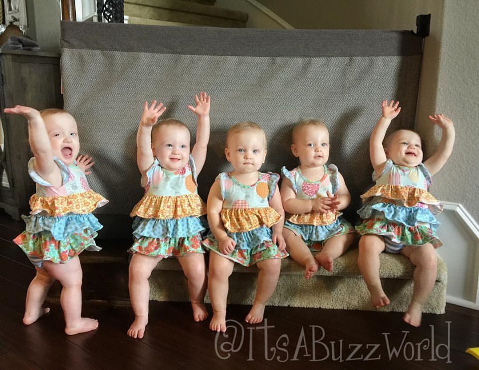 Quintuplets related keywords quintuplets long tail for Where is danielle s dad on outdaughtered