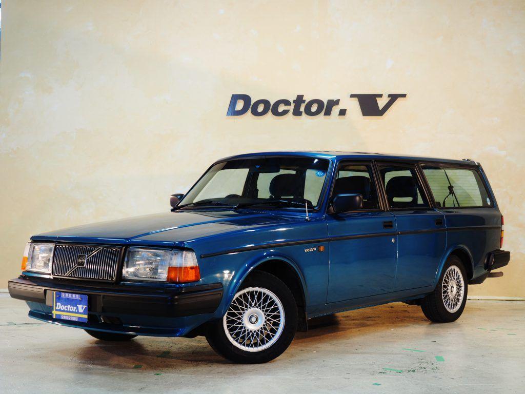Volvo ボルボ 240エステート カスタムカラー ターコイズブルー 1990年式 ボルボ 専門店 ドクターv Doctor V ボルボ 旧車 クラシックカー