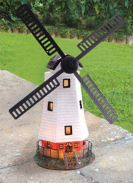 Attrayant Outdoor Decorative Garden Solar Light Led Home Light Decor Summer Sun  Windmill