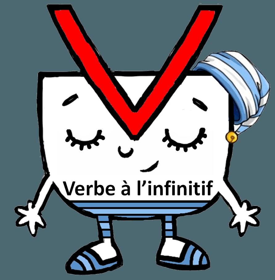 personnages de grammaire verbe infinitif é c o l e pinterest