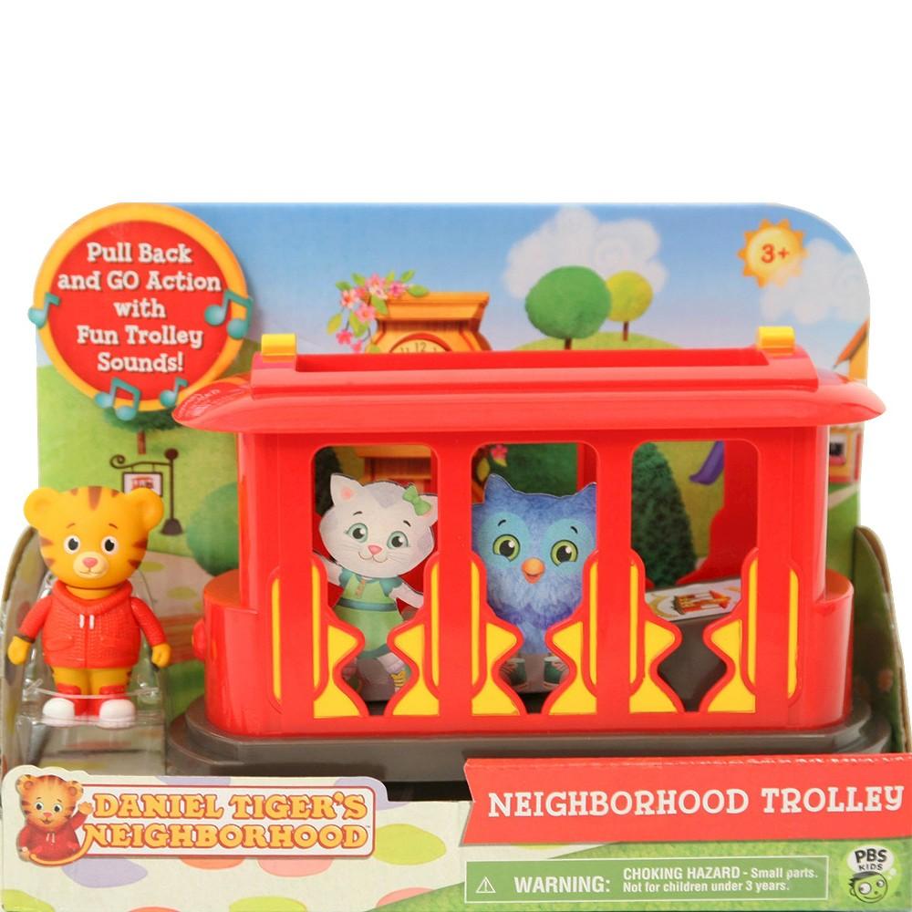 Daniel Tiger Neighborhood Trolley w/Figure   Products   Pinterest
