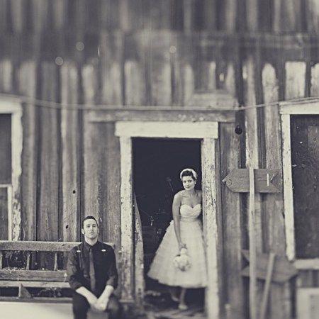 Vintage style wedding shoot.