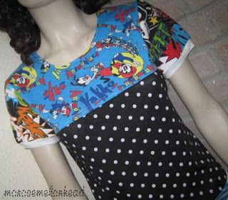 Recycled Fashion: Comic Book Clothing