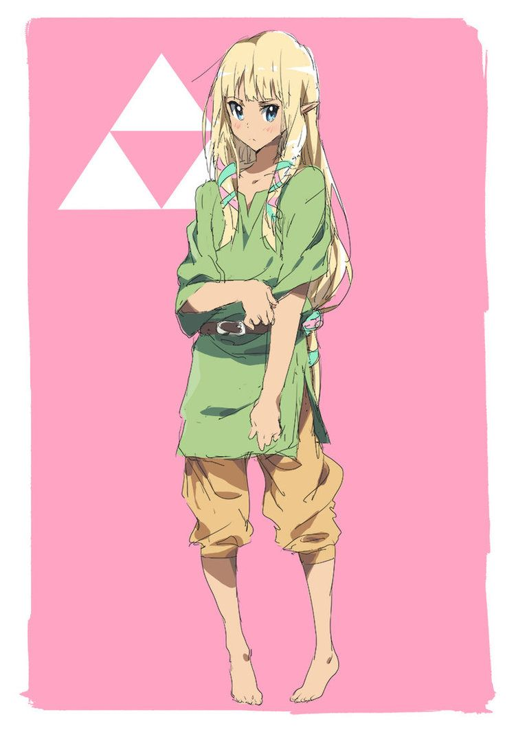 Day 19 | Zelda in Link's Clothes by moxie2D on DeviantArt