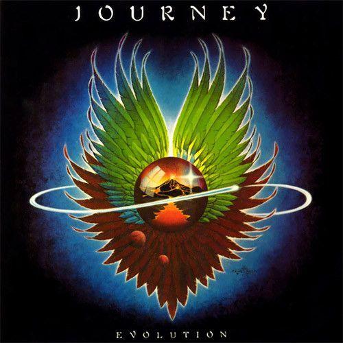 Journey Evolution Vinyl Lp Rock Album Covers Journey Albums Album Cover Art