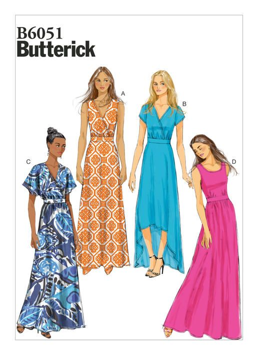 B6051 Butterick Patterns Patterns I Want To Buy