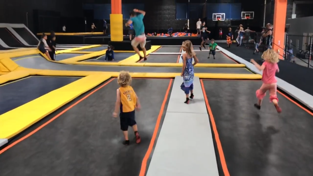 Maui's new and only trampoline Park is AWESOME! Fun