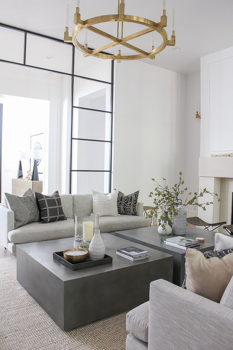 Our Sleek Minimalist Living Room The House Of Silver Lining Contemporary Living Room Design Modern Contemporary Living Room Living Room Scandinavian
