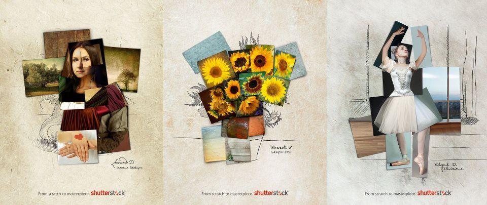 Kampania Shutterstock. Kolejna reklama nawiązująca do najbardziej znanych dzieł sztuki.