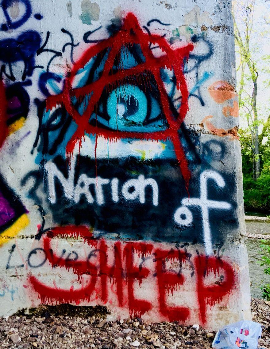 Anarchy Nation Pictures pinpaul jones on art | street art banksy, art, easy graffiti