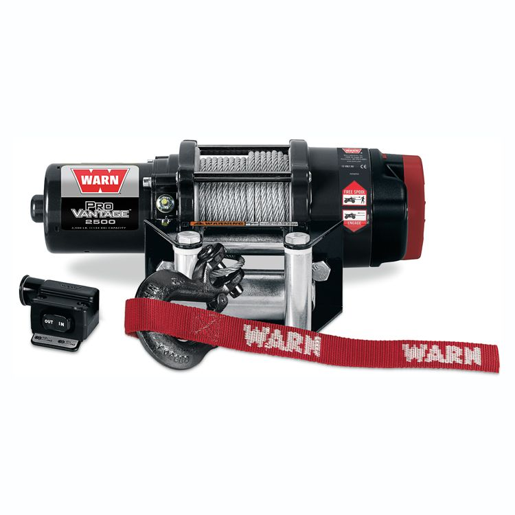Warn Provantage 2500 Winch Atv Winch Winches Winch