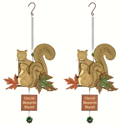Bouncy Babes Squirrel Set of 2