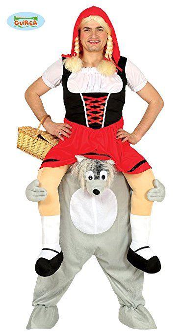 Trag Mich Huckepack Kostum Wolf Einhgr Carry Me Kostume Rotkappchen
