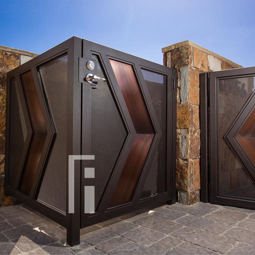 Modern Custom Iron Gate First Impression Ironworks Modern Gate Iron Doors Modern Custom Iron Gates