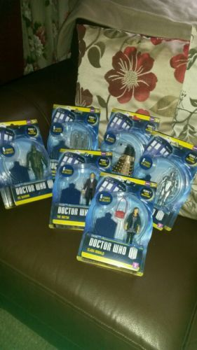 #Doctor who series 7 figures bundle x 6 #doctor who, clara, #dalek, cyberman etc,  View more on the LINK: 	http://www.zeppy.io/product/gb/2/331720299887/