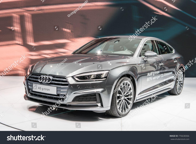 Frankfurt Germany September 13 2017 Metallic Gray Audi A5 Sportback G Tron At 67th International Motor Show Iaa S In 2020 Audi A5 Sportback Audi A5 A5 Sportback