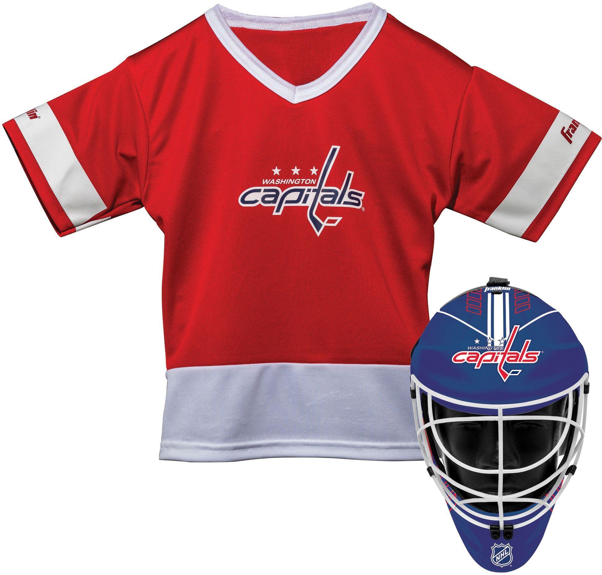 watch adba8 d936d Franklin Washington Capitals Kids' Goalie Costume Set, Kids ...