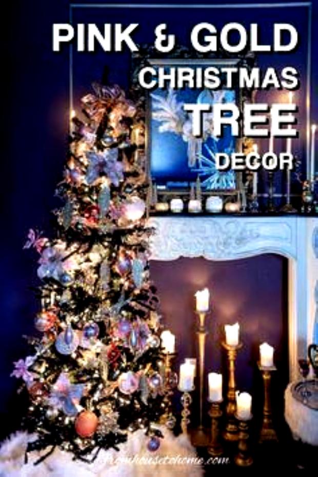 Pink and Gold Christmas Tree Decor (On A Black Tree)  plus 39 bloggers Christmas trees #fromhousetohome #christmastree #christmasdecor #themedchristmastrees  Pink and Gold Christmas Tree Decor (On A Black Tree)  plus 39 bloggers Christmas trees #fromhousetohome #christmastree #christmasdecor #themedchristmastrees Cohesive DIY Home Decor Ideas #homedecorideas #collegedormdecor #kidsdecor #bedroomdecor #farmhousedecor #xmasdecor #diydecor #cottagedecor #livi