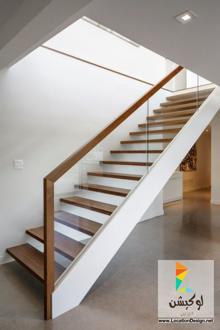 سلالم خشب مودرن 2015 Interior Stairs Modern Stairs Staircase Design