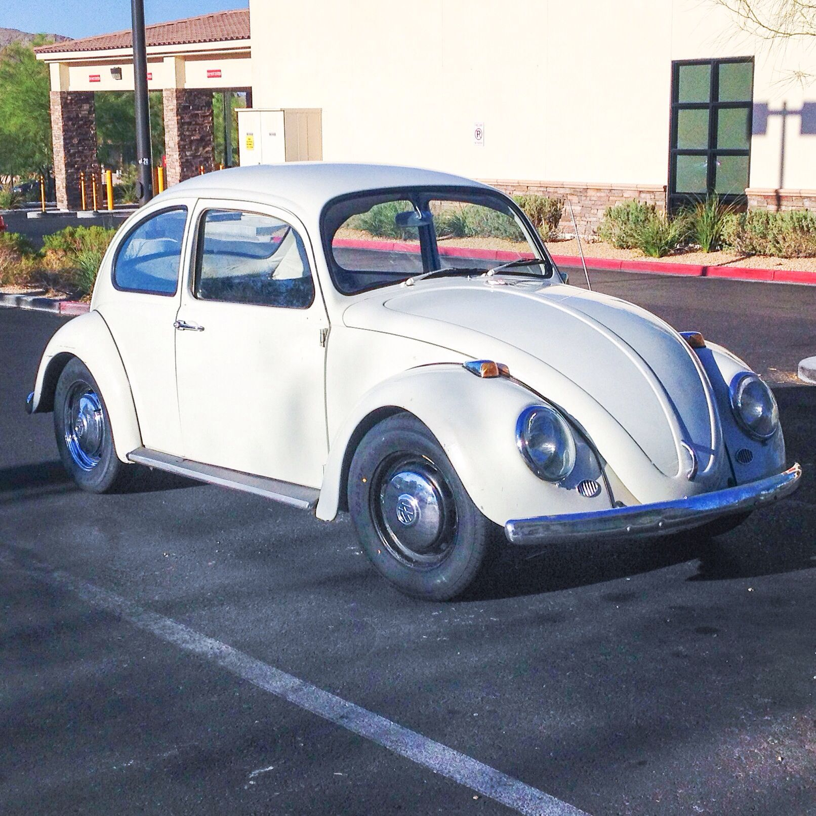 Buy Volkswagen: My Mother's 1966 VW Beetle With New Tires From Big-O Tires