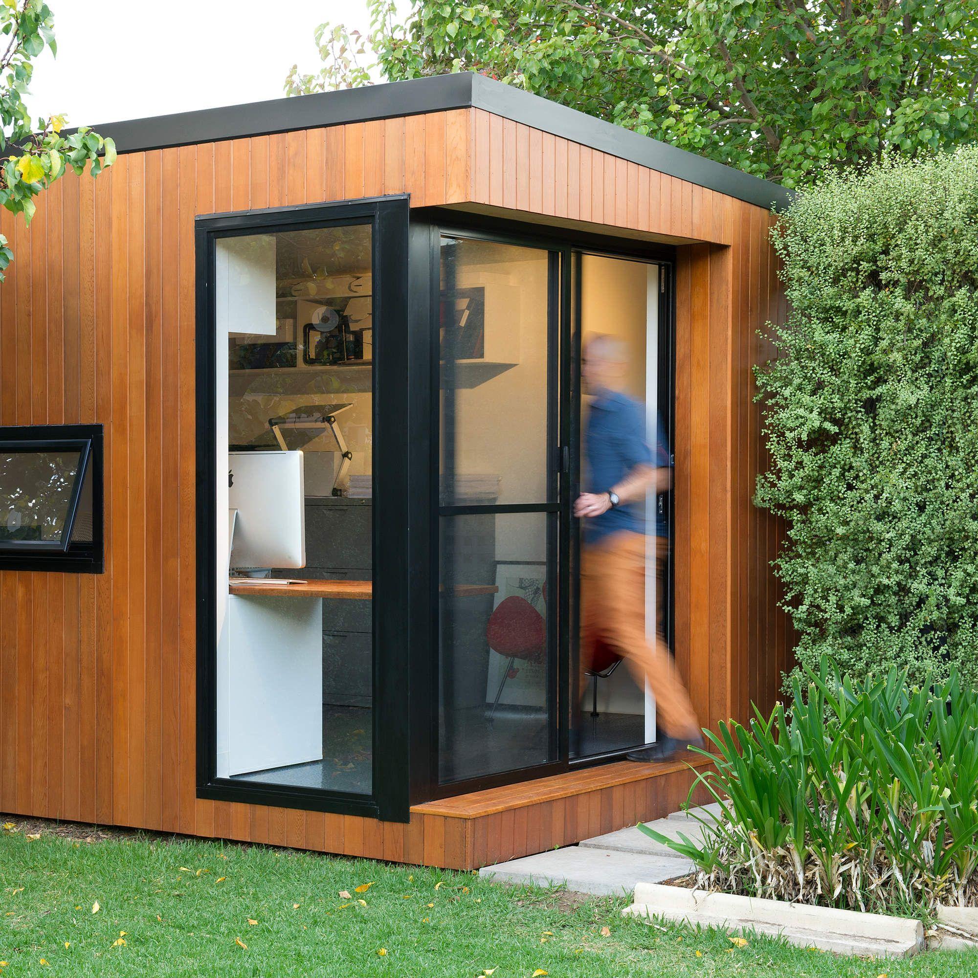 Merveilleux The Perfect Modular Backyard Office Pod
