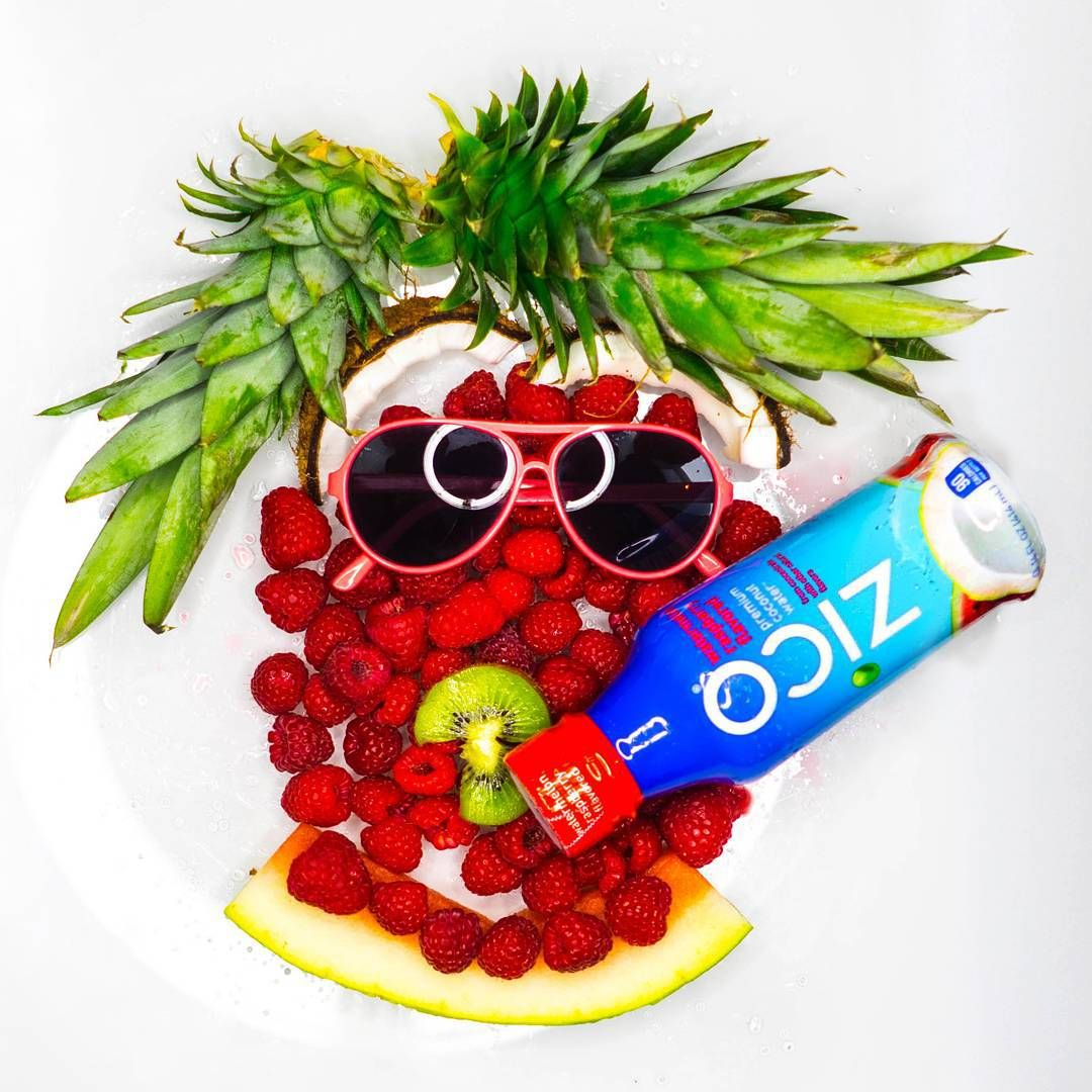 """Just trying to stay healthy ..So my new morning breakfast is a smoothie made up of these delicious treats and a splash of @ZICOcoconut . As they say, ""You are what you eat"" #CrackLifeOpen"" via @Turnone"