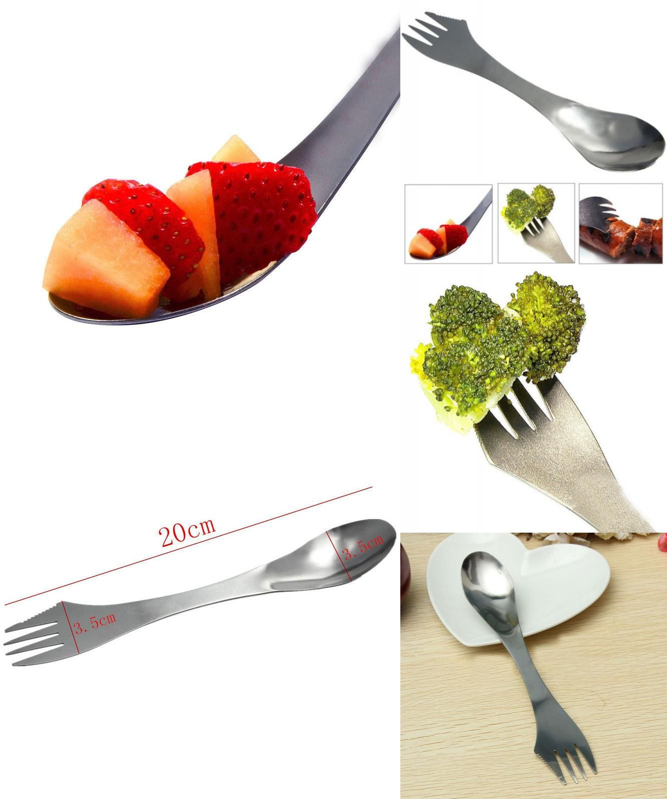Hot Sale Stainless Steel Tableware Outdoor Travel Tableware Camping Hiking Travel Picnic Sports & Entertainment