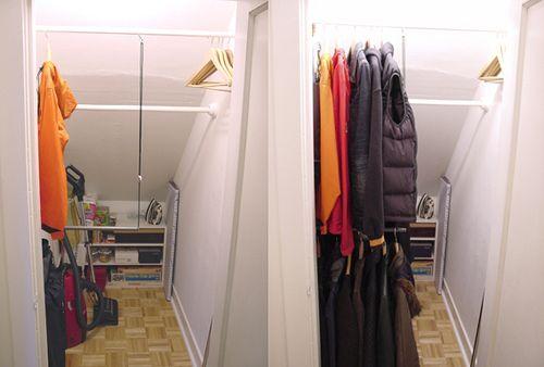 Deep And Dreaded Coat Closet Has Been Tamed Deep Closet