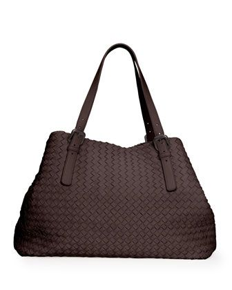 Large Woven A-Shape Tote Bag d39edd5292f96