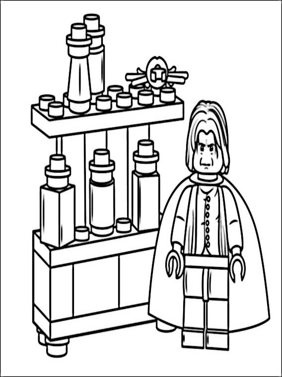 lego harry potter coloring pages 4  harry potter coloring