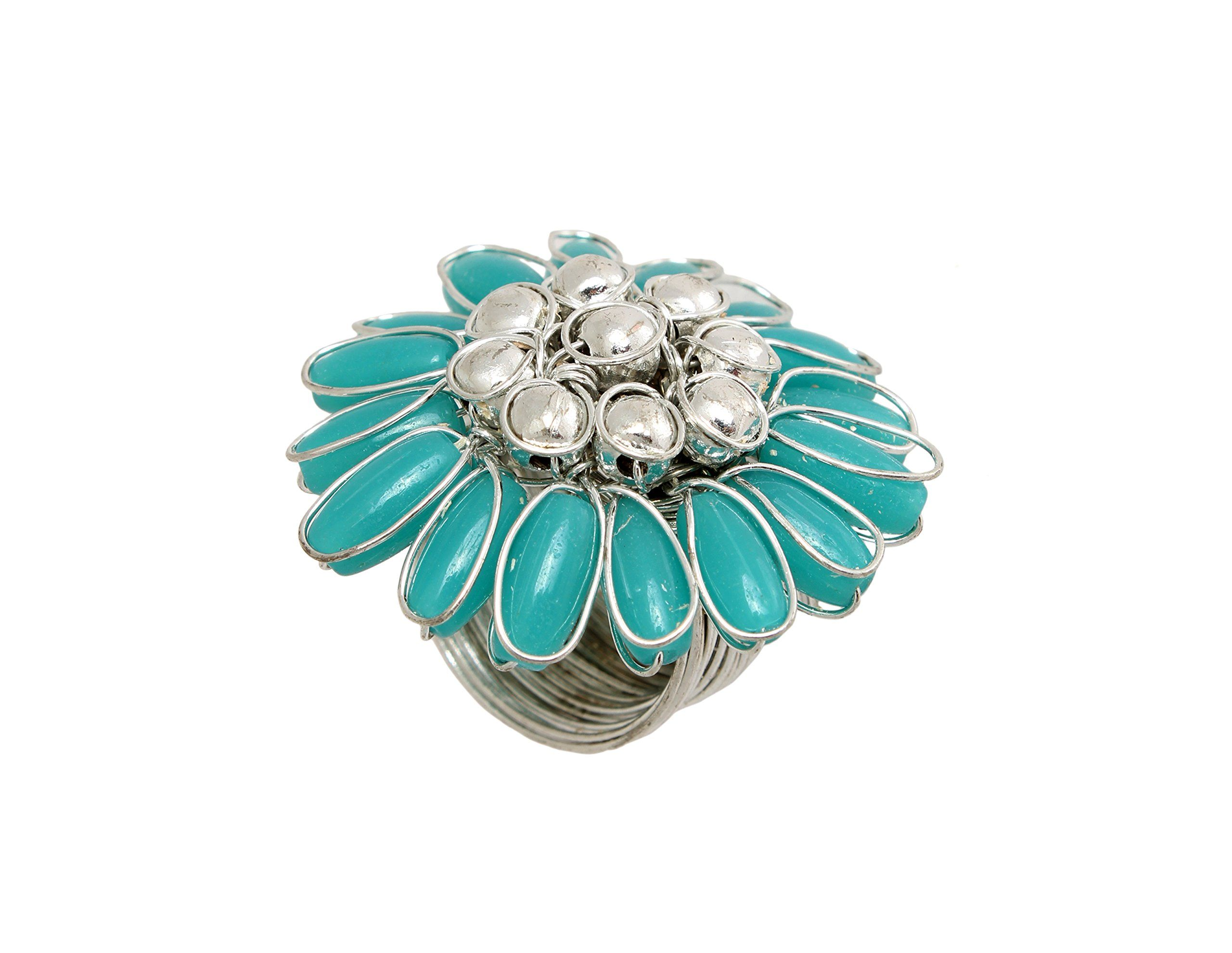 Store indya finger ring fashion jewelry for girls imperial blue