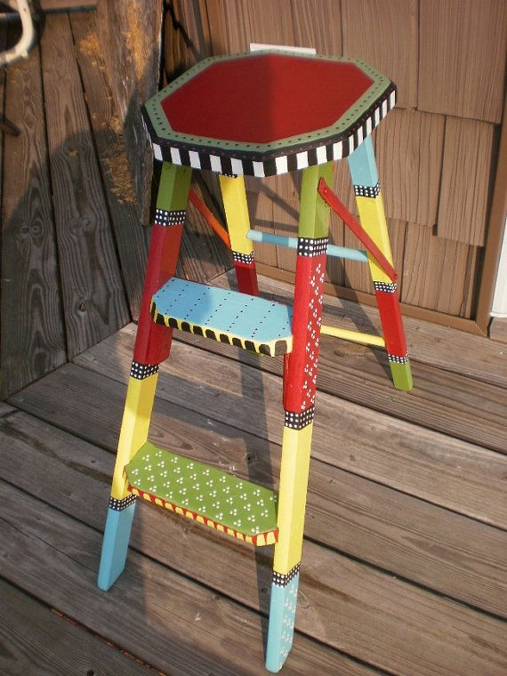 Unavailable Listing on Etsy is part of Funky painted furniture -