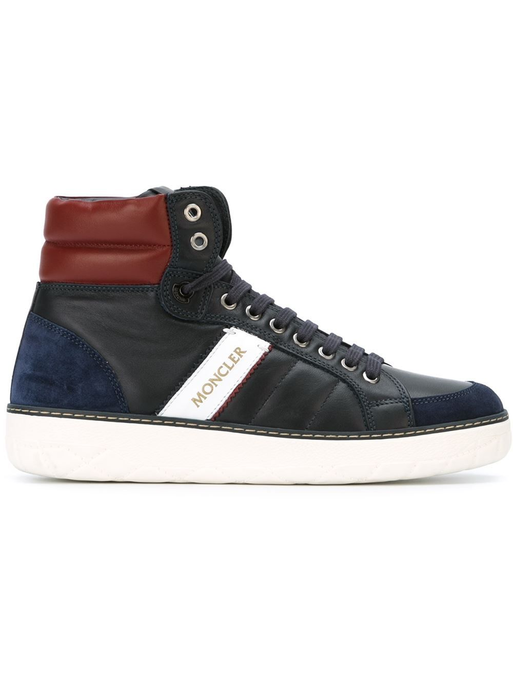 Moncler 'New Lyon' sneakers | High top sneakers, Sneakers