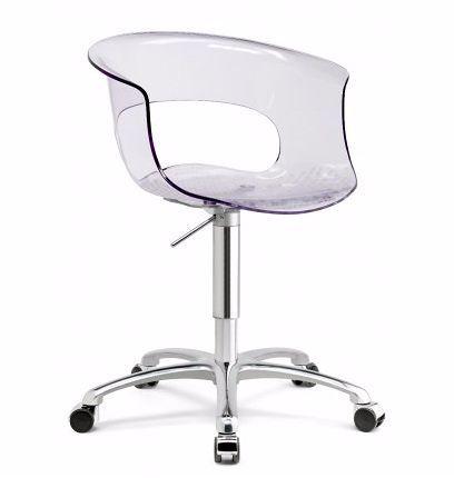 Sillón con ruedas MISS SBGRG para oficina | Ingenia Contract ...