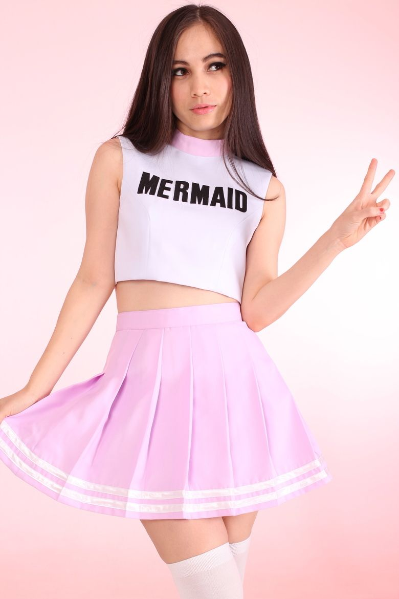 Image of Made To Order - Team Mermaid Cheerleading Set