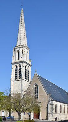 Eglise De La Madeleine A Vendome Centre France Vendome Loir Et Cher Eglise